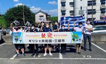 Ολυμπιακοί Αγώνες 2020: Θερμή υποδοχή της Εθνικής στίβου στην πόλη Μισάτο