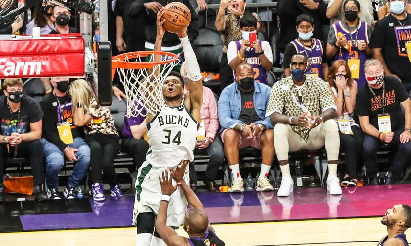 NBA Finals: Το νικητήριο κάρφωμα του Αντετοκούμνπο στο Game 5! (vid)