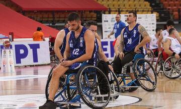 Εθνική μπάσκετ με αμαξίδιο: Φινάλε με ήττα από τη Σερβία (62-53)
