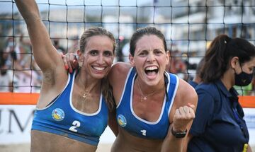 Beach Volley: Πρωταθλήτριες Ελλάδας οι Αρβανίτη - Καραγκούνη (vid)