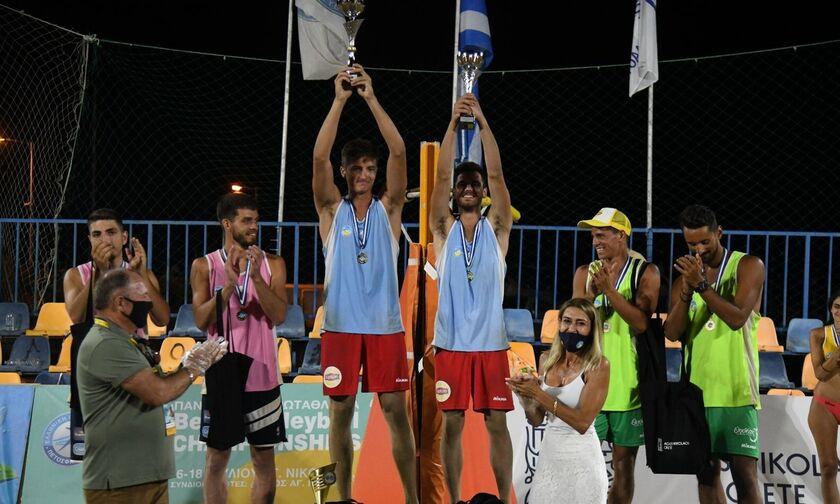 Beach Volley: Πρωταθλητές οι Μανδηλάρης και Κανέλλος (Highlights)