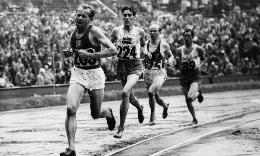 1952: Ο πρώτος Μαραθώνιος του Εμίλ Ζάτοπεκ