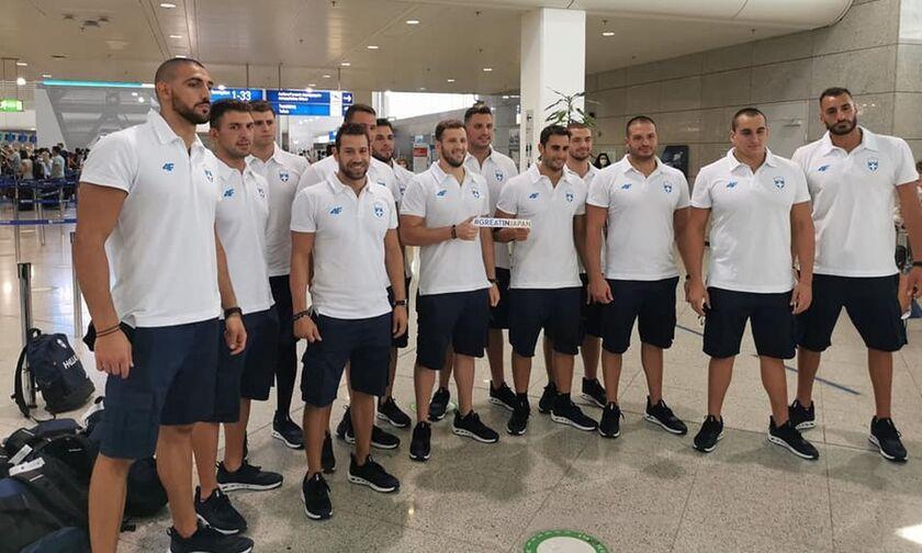 Πάει Τόκιο και η Εθνική ομάδα πόλο των ανδρών (pics)