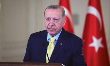 Ερντογάν: «Ο Τουρκοκύπριος λαός είναι κυριαρχικά ισότιμος στο νησί»