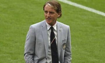 Μαντσίνι: Η Εθνική Ιταλίας γιάτρεψε την πληγή του χαμένου τελικού από την Μπαρτσελόνα στο Γουέμπλεϊ
