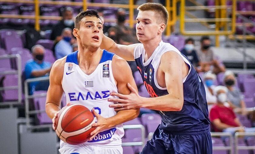 Νέων Ανδρών: Ελλάδα – Ρωσία 84-70