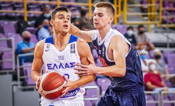 Εθνική Νέων Ανδρών: Ελλάδα – Ρωσία 84-70