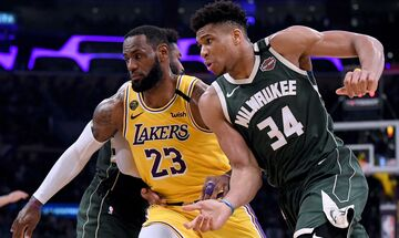 NBA Finals, Μπακς - Σανς: Ο Λεμπρόν Τζέιμς υποκλίθηκε στον Αντετοκούνμπο!
