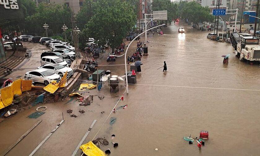 Κίνα: Στους 16 τα θύματα των πλημμυρών - Φράγμα έτοιμο να καταρρεύσει