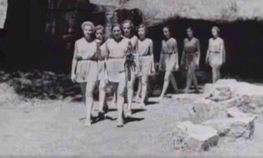 Η πρώτη τελετή αφής Ολυμπιακής Φλόγας στην Αρχαία Ολυμπία (vid)