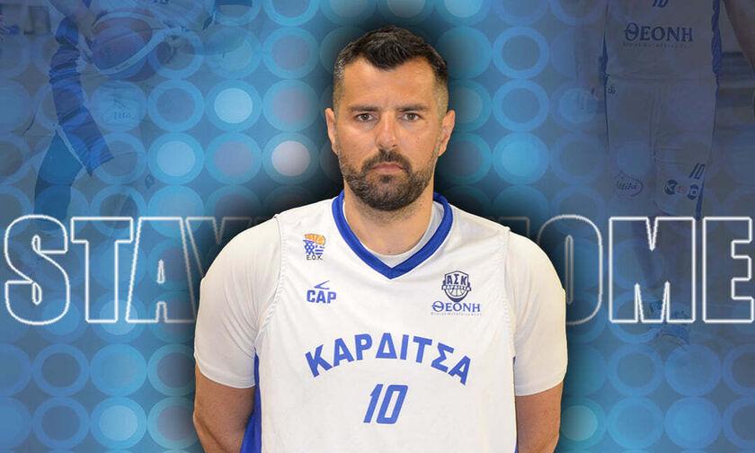 Νίκος Κακλαμάνος: Παρών και τη νέα σεζόν ο αρχηγός στην Καρδίτσα!