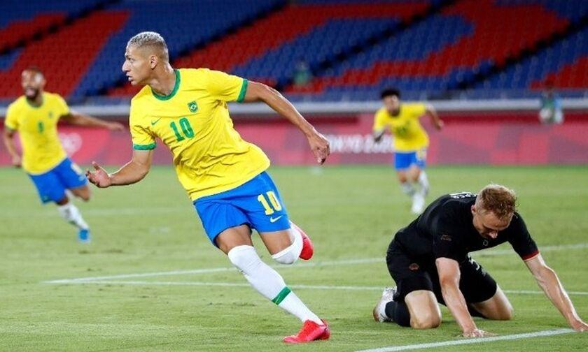 Ποδόσφαιρο Ανδρών: Τεσσάρα οι Βραζιλιάνοι, με χατ τρικ Ριτσάρλισον στη Γερμανία!