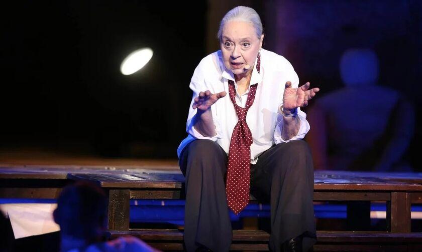 Πέθανε η σπουδαία ηθοποιός του θεάτρου, Μάγια Λυμπεροπούλου
