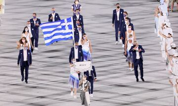 Ολυμπιακοί Αγώνες 2020: Η είσοδος της Ελλάδας στην τελετή έναρξης (vid)
