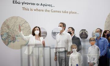 Ο Κυρ. Μητσοτάκης στο Ολυμπιακό Μουσείο: «Αντάξιο της ιστορίας των Ολυμπιακών Αγώνων»