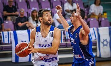 Εθνική Νέων Ανδρών: Σπουδαία νίκη κόντρα στο Ισραήλ (82-70)