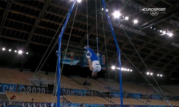 Ολυμπιακοί Αγώνες 2020: Η προσπάθεια του Πετρούνια που δεν έδειξε η ΕΡΤ (vid)