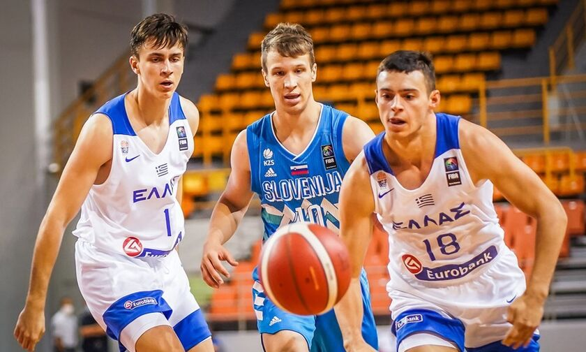 Εθνική Νέων Ανδρών: Ήττα από Σλοβενία (63-84) και 3η στο European Challenger