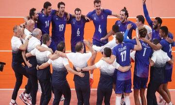 Ολυμπιακοί Αγώνες 2020: Τουρνουά βόλεϊ ανδρών: Χρυσή Γαλλία, 3-2 τη Ρωσία