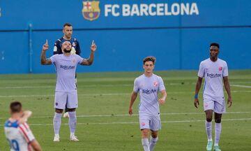 Μπαρτσελόνα: Ανεπίσημο ντεμπούτο του Ντεπάι με γκολ στη φιλική νίκη (3-1) επί της Ζιρονα (vid)!