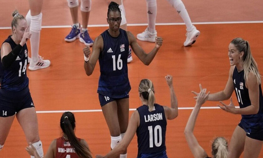 Ολυμπιακοί Αγώνες 2020: Τουρνουά βόλεϊ γυναικών: Τελικός ΗΠΑ-Βραζιλία