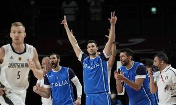 Ολυμπιακοί Αγώνες 2020: Νίκη με ανατροπή για την Ιταλία, 92-82 την Γερμανία