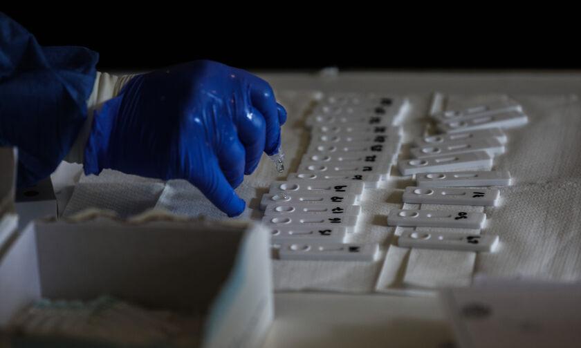 ΕΟΔΥ: Δωρεάν rapid test σε 137 σημεία την Τρίτη 27 Ιουλίου