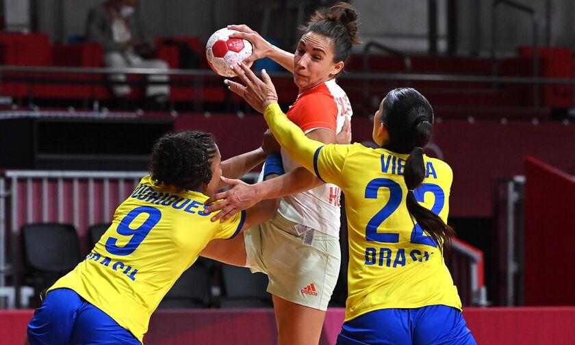 Ολυμπιακοί Αγώνες 2020: Πρώτη νίκη για Βραζιλία, 33-27 Ουγγαρία στο χάντμπολ γυναικών