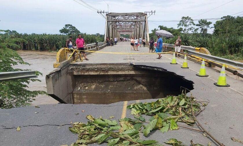 Κόστα Ρίκα: Δυο νεκροί και εκτεταμένες καταστροφές μετά από πλημμύρες