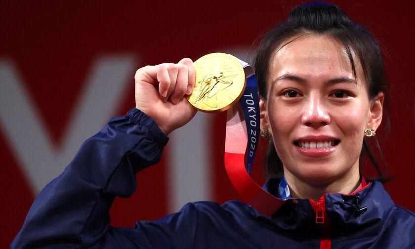 Ολυμπιακοί Αγώνες 2020: «Χρυσή» με τρία Ολυμπιακά ρεκόρ η Κούο στην Άρση Βαρών