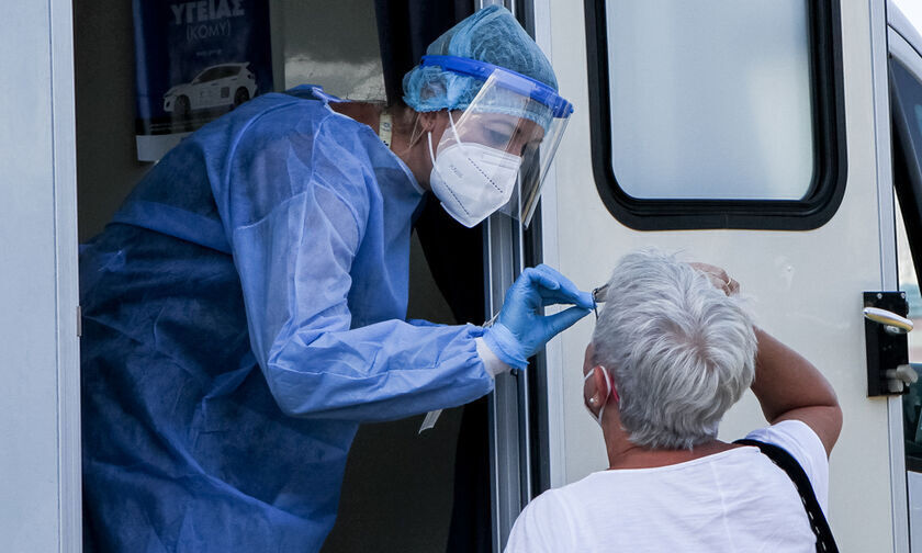 Κορονοϊός: 3.593 νέα κρούσματα, 8 νεκροί, 142 διασωληνωμένοι