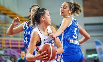 Εθνική Νεανίδων: Νέα βαριά ήττα από τη Γαλλία (72-27)