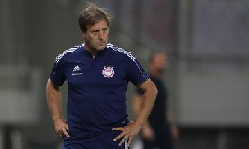 Νέφτσι-Ολυμπιακός 0-1: Μαρτίνς: «Κρατήσαμε την τακτική, ελπίζω να είμαστε πλήρεις»
