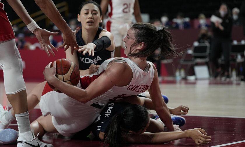 Ολυμπιακοί Αγώνες 2020: Πρώτη νίκη για Καναδά, 74-53 τη Νότια Κορεά