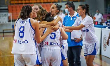 Εθνική Νεανίδων: Πρώτη νίκη κόντρα στη Σλοβακία με 56-54!