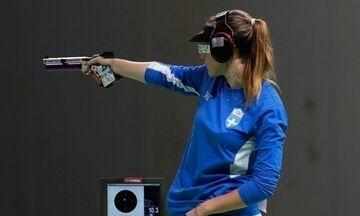 Ολυμπιακοί Αγώνες 2020: Στον τελικό των 25μ. σπορ πιστόλι η Κορακάκη