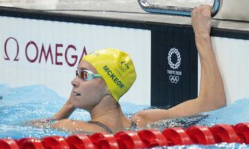 Ολυμπιακοί Αγώνες 2020: Χρυσό και Ολυμπιακό ρεκόρ η ΜακΚίον στα 100 μ. ελεύθερο