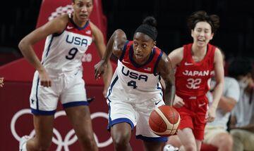 Ολυμπιακοί Αγώνες 2020: Ασταμάτητες οι ΗΠΑ, 86-69 την Ιαπωνία