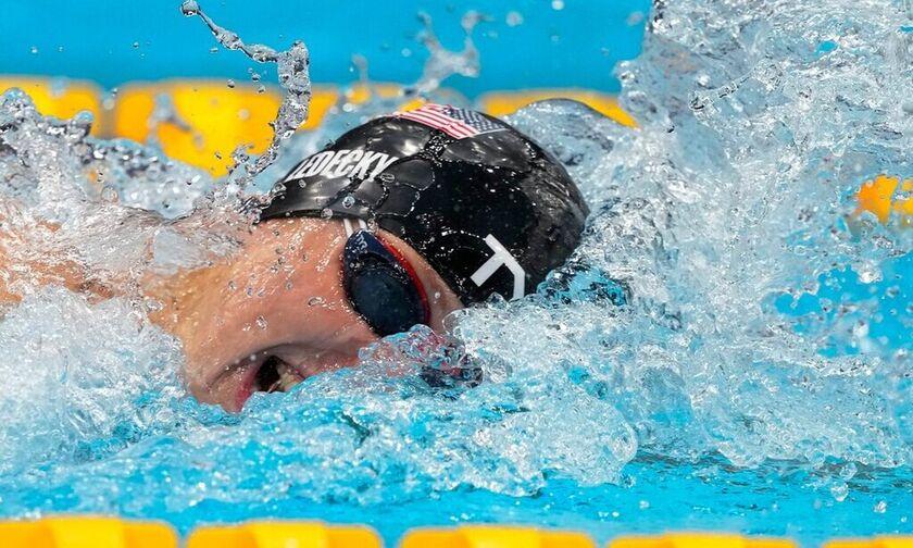Ολυμπιακοί Αγώνες 2020: Τρίτο σερί χρυσό μετάλλιο στα 800μ. ελεύθερο η Λεντέκι