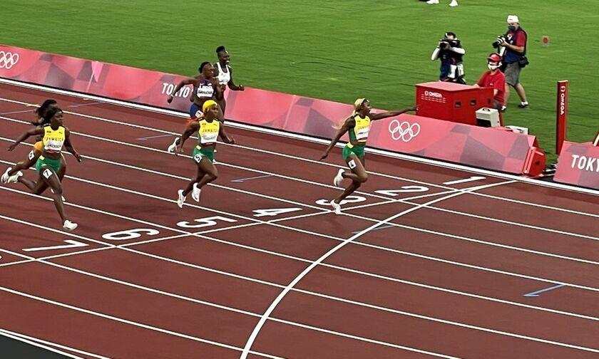Ολυμπιακοί Αγώνες 2020: Η Ελέιν Ερα Τόμπσον Ολυμπιονίκης στα 100μ. γυναικών