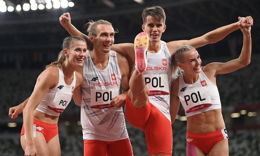 Ολυμπιακοί Αγώνες 2020: Έγραψε ιστορία η «χρυσή» Πολωνία στα 4Χ400! (vid)