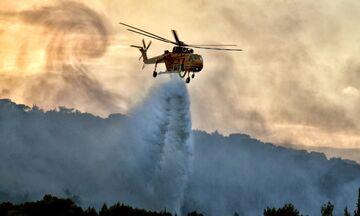 Αχαΐα: Εκτός ελέγχου η φωτιά - Παραμένει κλειστή η Αθηνών - Πατρών, εκκενώνεται ο Λόγγος
