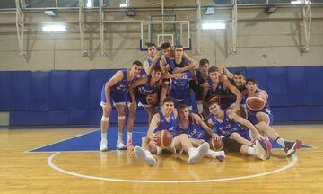 Εθνική Εφήβων μπάσκετ: Αναχωρεί για το Τελ Αβίβ