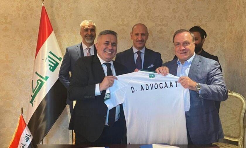 Ανέλαβε την εθνική Ιράκ ο 74χρονος (πρώην συνταξιούχος...) Ντικ Άντβοκαατ!