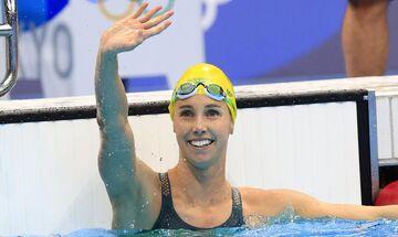 Ολυμπιακοί Αγώνες 2020: Χρυσό και στα 50μ. ελεύθερο η ΜακΚίον