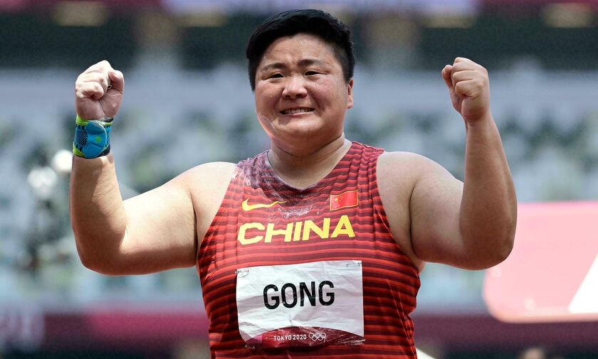Ολυμπιακοί Αγώνες 2020: Η Γκονγκ το χρυσό στη σφαιροβολία
