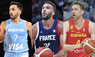 Ολυμπιακοί Αγώνες 2020: Οι 8 ομάδες των προημιτελικών στο τουρνουά μπάσκετ ανδρών