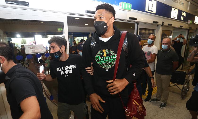Αντετοκούνμπο: «Δεν σταματάμε να δουλεύουμε, ακόμα κι αν γίναμε MVP ή πρωταθλητές NBA»
