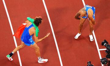 Ολυμπιακοί Αγώνες 2020: Μοιράστηκαν το χρυσό στον τελικό του ύψους ο Μπαρσίμ και ο Ταμπέρι (vid)