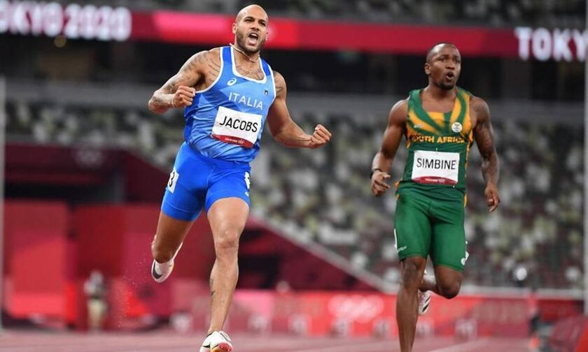 Ο Ιταλός Τζέικομπς πήρε την κούρσα των 100μ. με 9.80 (vid)!